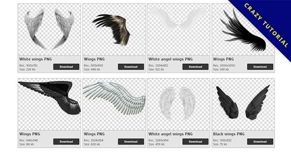 63 Wings PNG image collections are free to download